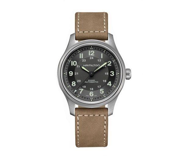 Hamilton Khaki Field Titanium Automatic 42mm Mens Watch H70545550 Malaysia
