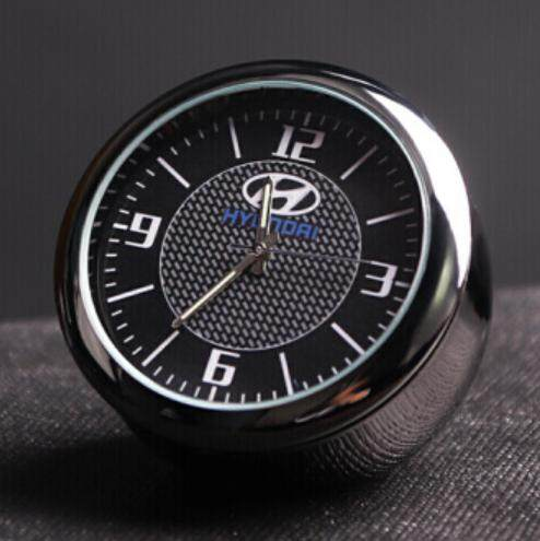 [hyundai] Luxury Quartz Luminous Car Clock By Stc Store.