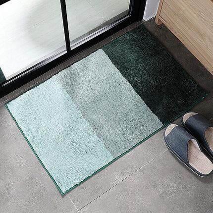99f0a19d8882 Bathroom mat water absorption door door non-slip floor mat door mat floor  mats Modern