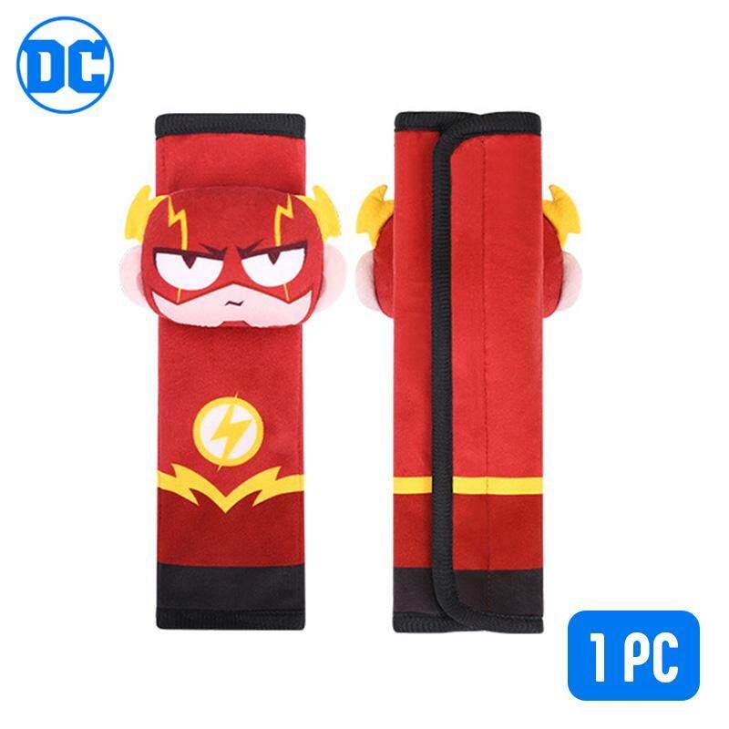 d548f501e4e8dd DC Comics Safety Seat Belt Strap Shoulders Cover Pad Superman Batman Flash  Justice League Cyborg Captain