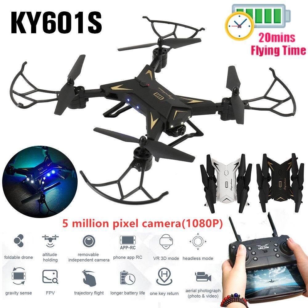 Selfie Drone 720P Wide Angel Gimbal Camera Long Fly Time APP Control Helicopter RC Aircraft Quad copter Toy