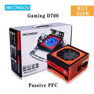 IWONGOU Bộ Nguồn Pc 580W PSU Thụ Động PFC Chơi Game D700 Xếp Hạng 465 W Với Quạt Chịu Lực Im Lặng, Dành Cho Máy Tính AMD Intel AMD NVDIA Máy Tính Để Bàn Mới thumbnail