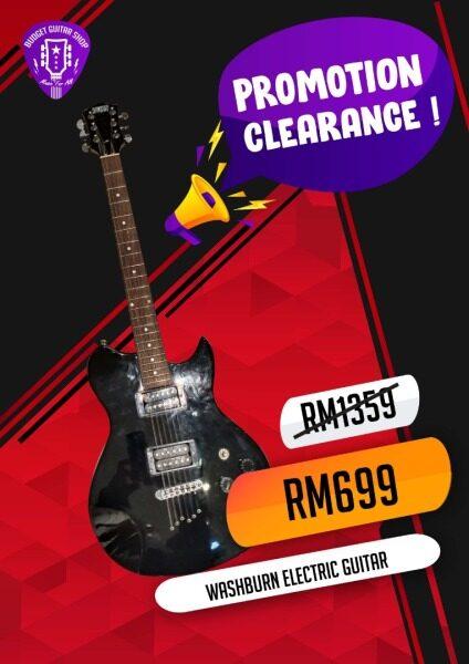 Washburn Electric Guitar Malaysia