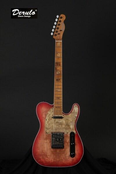 Derulo GD-001 custom made electric guitar Malaysia