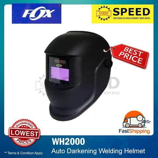 FOX Auto Darkening Welding Helmet / Head Shield (WH2000)
