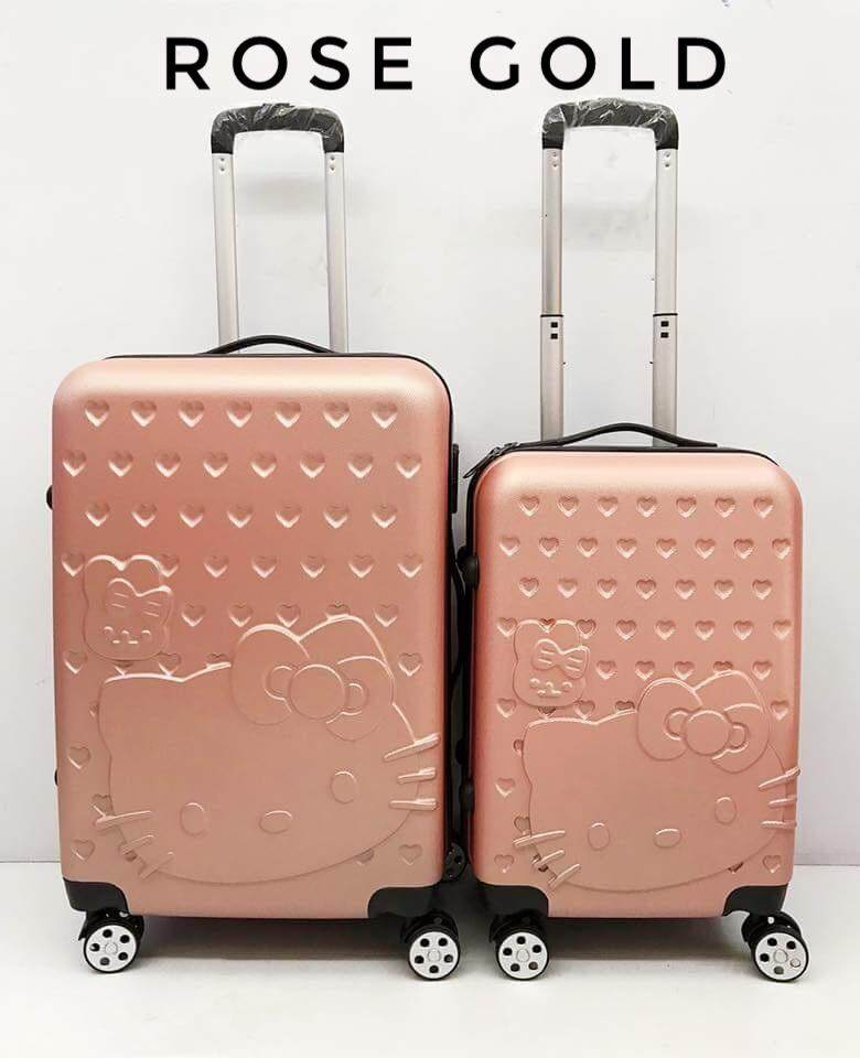Hello kitty Luggage  2IN1  set 20 inch + 24 inch