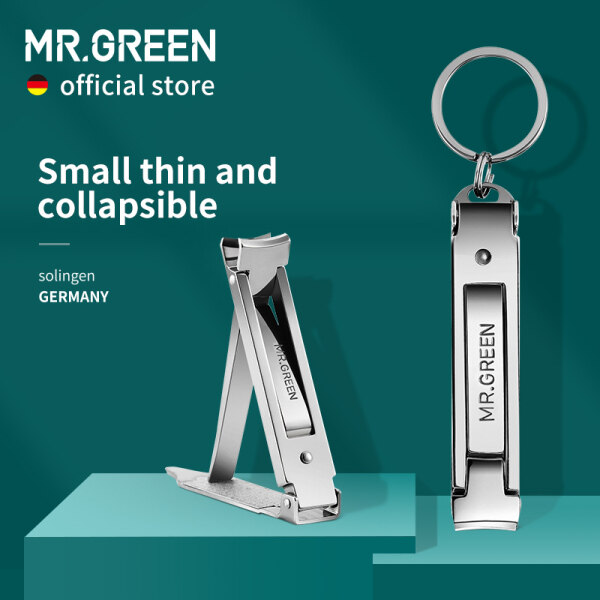 Buy MR.GREEN Collapsible Nail Clippers Small And Thin Portable Travel Nail Scissor Stainless Steel Manicure Cutter Tools Files Singapore