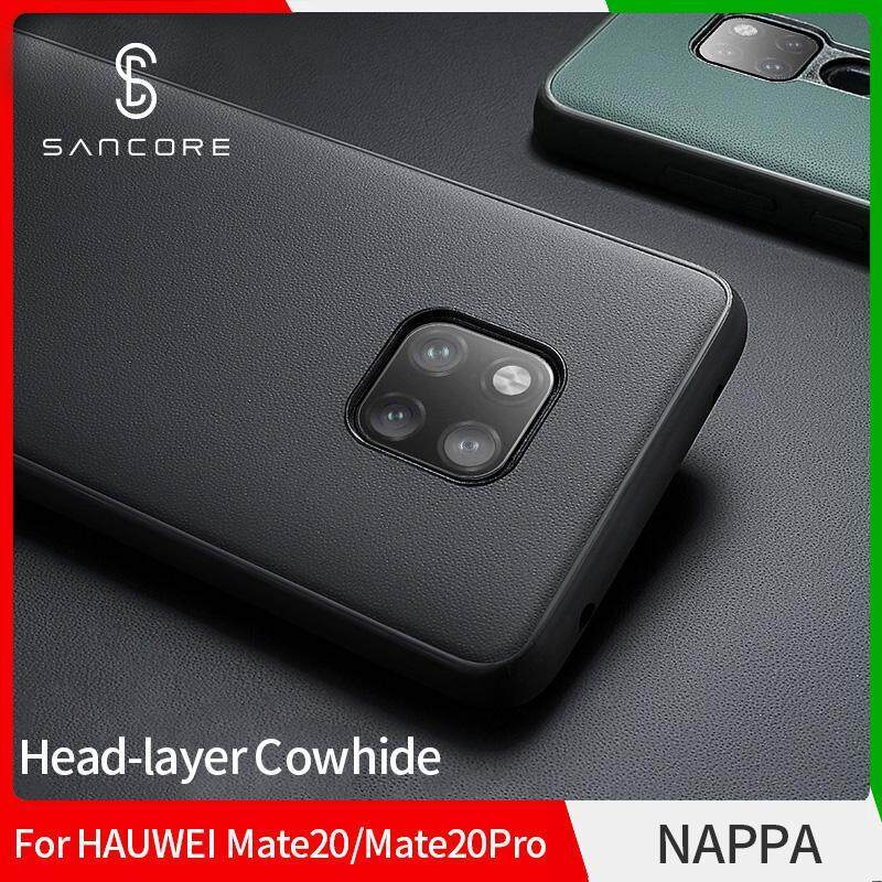 Giá SanCore for HUAWEI MATE20/PROPhone Case Leather NAPPA Business Luxury Premium Cellphone Shell Business Luxury Cowhide Phone Case