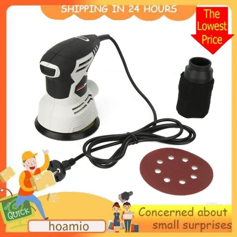 【Lowest price across Internet】hoamio 220V 240W Wall Polishing Orbit Sander Electric Sanding Machine 12000r/min Rotary Sander EU Plug Vacuum Wall Putty Machine Polisher Machine Electric Sander Woodworking Polisher Wall Wood Paint Sanding Polishing Tool