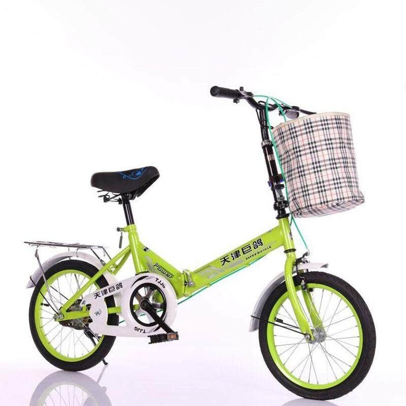 (2019 New Release) (kumronmo) 20 Inch Folding (foldable, Fold) Bicycle Single Speed Brake Portable Children Bicycle For Adults Student Ultra Light (ultralight) Bike Light Weight Lightweight By Fuyuequan Store.