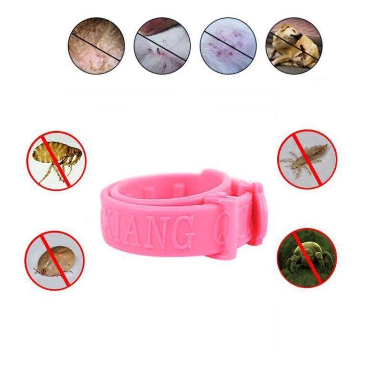 Adjustable Pet Cat Dog Collar Protection Neck Ring Flea Tick Mite Louse Remedy By Daroma.