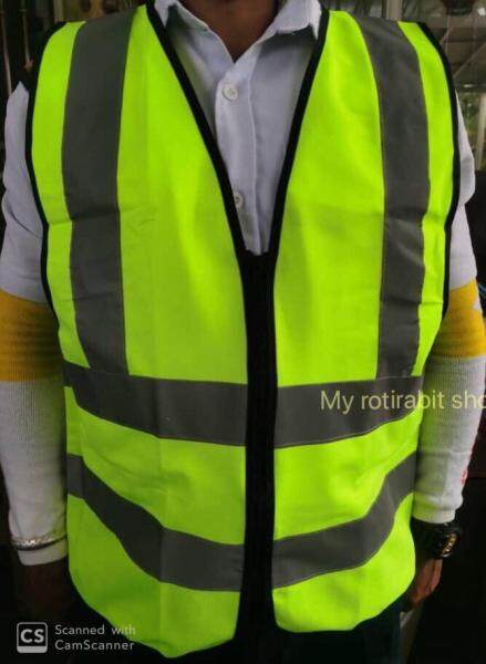 SAFETY REFLECTIVE VEST (with & without SECURITY WORD)