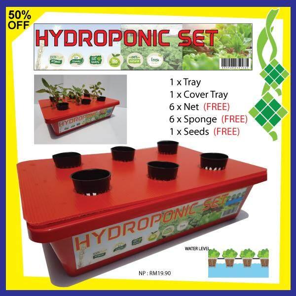 HIDROPONIK SET  / HYDROPONIC SET  6 POT