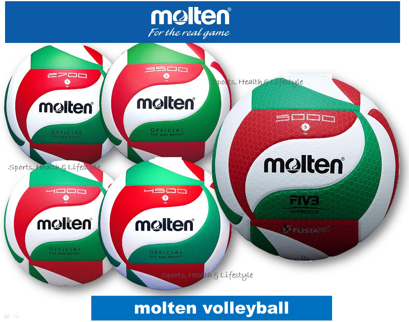 Molten Volleyball 2700 3500 4000 4500 5000 100 Original Lazada