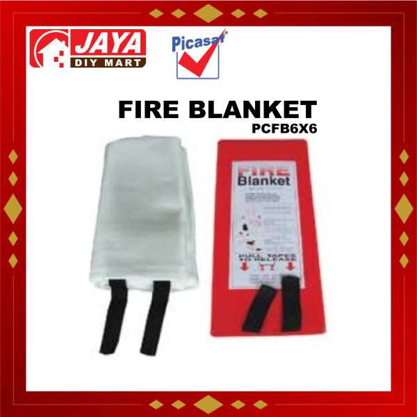 PICASAF PCFB6X6 FIRE BLANKET SIZE 6x6