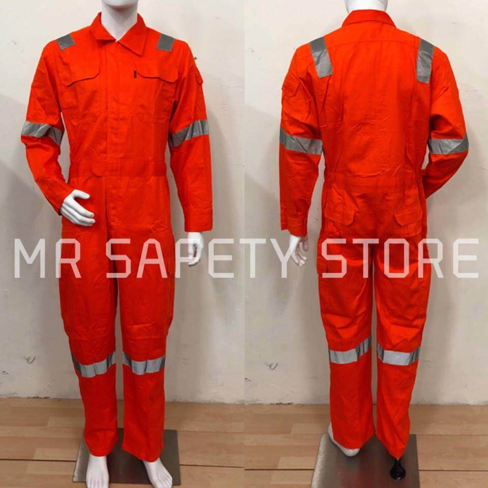 Tanker Exclusive with Reflective Coverall - 4XL Size