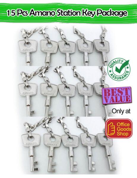 Kunci Amano Key 15 pcs (Number 1,2,3,4,5,6,7,8,9,10,11,12,13,14,15) Value Buy Package