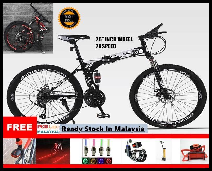 Bicycle, Folding Bike, Mountain Bike, Montbike, Sportbike, MTB, Wheel, 21 Speed