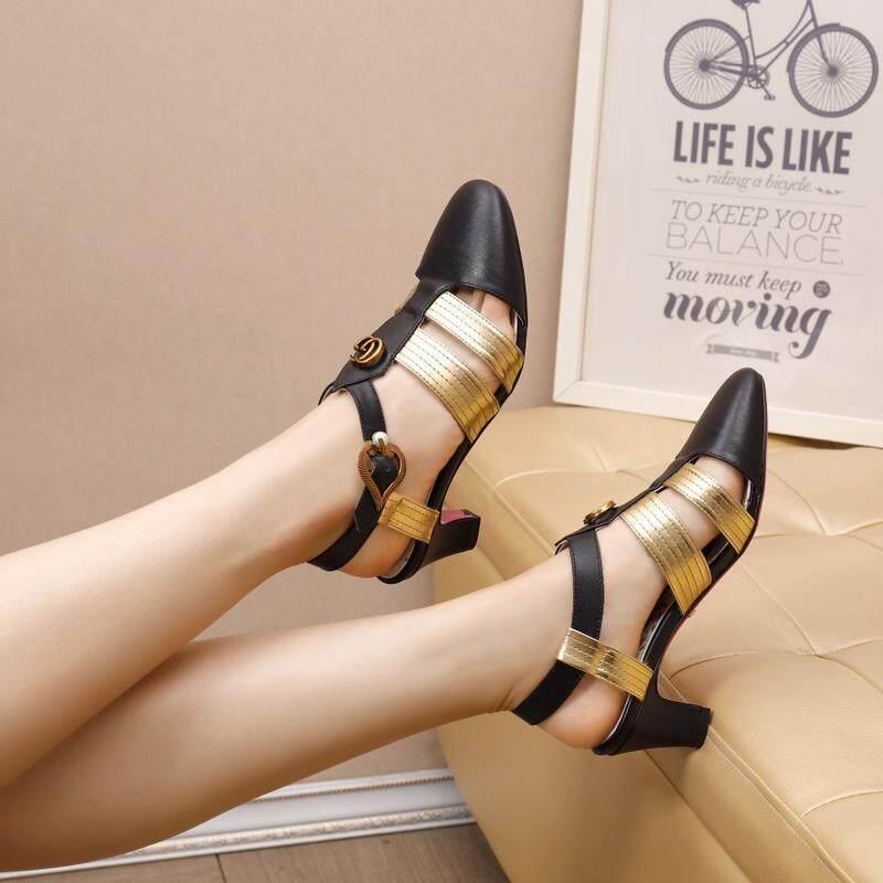 0b18093b06b9 Gucci  Gucci women s shoes cool qi double G label bag toe thick with  lanyard matching