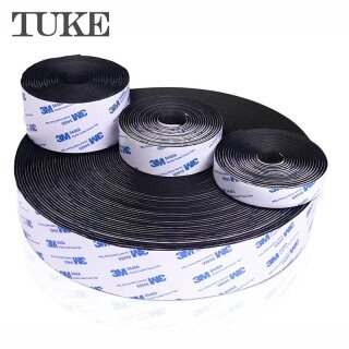 TUKE 20 25 30 38 50 Mét Mạnh Mẽ Tự Dính 3M Keo Và Vòng Fastener Băng Nylon Sticker Velcros Dính Cho DIY Phụ Kiện thumbnail