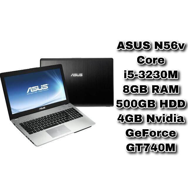 ASUS N56v Core i5-3230M 8GB RAM 500GB HDD 4GB NVIDIA GeForce GT740M 15.6 inch Malaysia