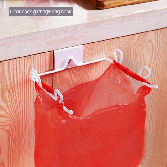 Wrought Iron ห้องครัวประตูตู้เก็บของถุงใส่ขยะชั้นวางของโลหะสีขาว By Nengzhe.