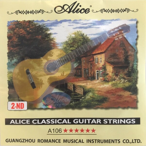 Alice Classical Guitar 2nd Strings (A106-2) Malaysia