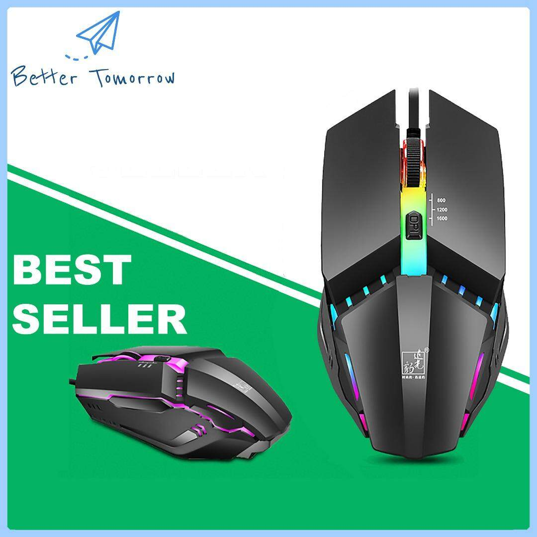 BETTER TOMORROW 4D K3 Mechanical Gaming Mouse and Office Mouse ( ZG LEOPARD EXCLUSIVE DISTRIBUTOR ) Malaysia