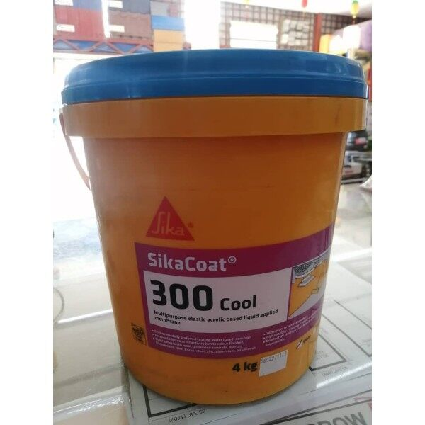 Sika® Sikacoat 300 Cool 4kg (white / grey) made in malaysia