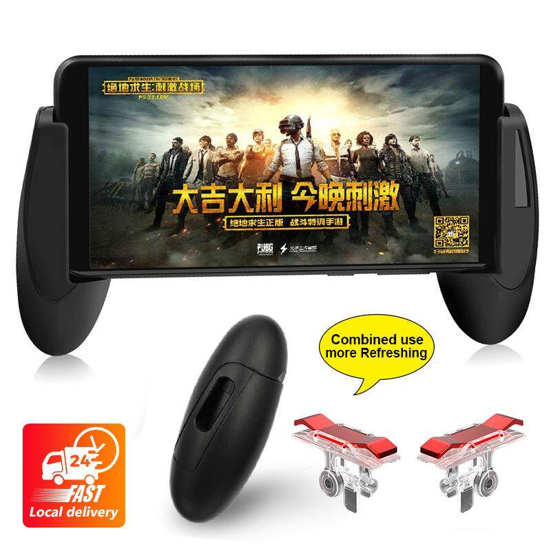Pubg Mobile Game Trigger Fire Button Handle Grip Shooter Controller Pubg E9 By Mlkccbatch341.