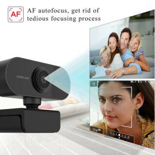 Webcam Lấy Nét Tự Động FHD Cho PC 1080P Tích Hợp Micro Giảm Tiếng Ồn Cuộc Gọi Video Cao Cấp Camera USB Web Cam Cho Máy Tính Xách Tay Máy Tính Để Bàn 5