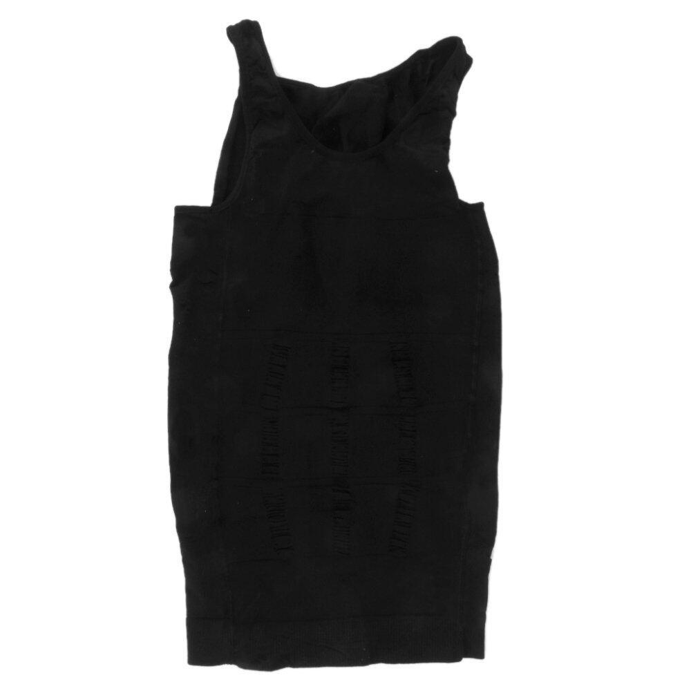Pria Perut Gendut Pakaian Dalam Pembentuk Tubuh Langsing Rompi Baju Korset Kompresi M