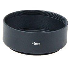 Metal Lens Hood 49mm By Larrys Wholesales Market.