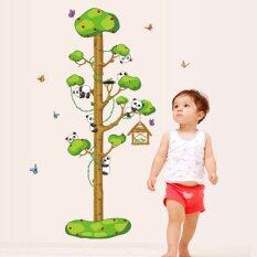 New!! Kids Growth Height Chart Measure Wall Stickers - Panda By Winwin Store.