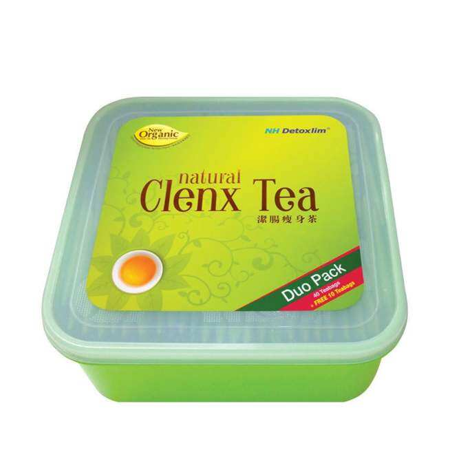 NH Natural Clenx Tea Duo Pack 40's + 10's