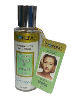 Norefal Placenta Oil + Vitamin E - Latest Packaging (Exp:Dec2021)