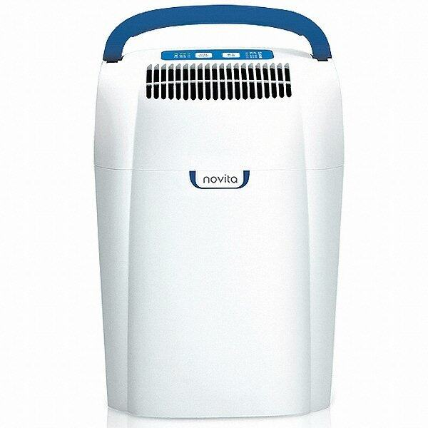 Novita Dh-103 Dehumidifier Humidity Control Low Noise (White) (EXPORT) Singapore