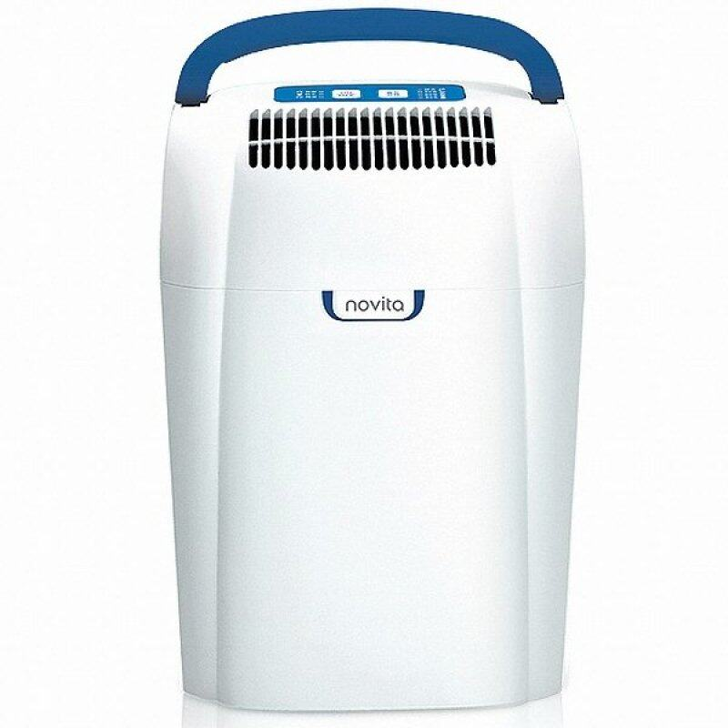 Novita Dh-103 Dehumidifier Humidity Control Low Noise (White) (EXPORT) Singapore