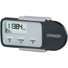 (original) Omron Hj-321 Tri-Axis Pedometer Black (warranty 1 Year) By My Medic Store.