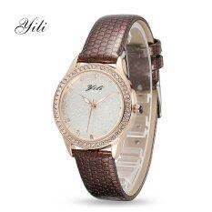 ORIGINAL YILI KOREAN Fashion Ladies Heart Diamond Quartz Watch Malaysia