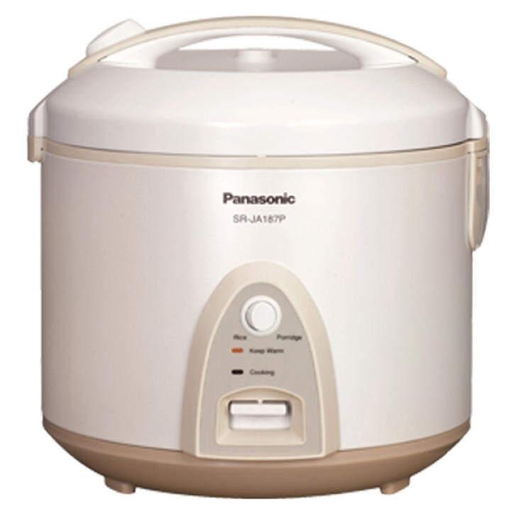 Panasonic Jar Rice Cooker 2.2L Black-Coated Non-Stick Pan ...