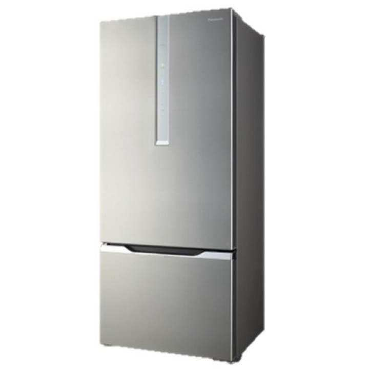 Panasonic Econavi Inverter 602L 2 Door Refrigerator with Urban Bottom Freezer Design - NR-BY608XS (Stainless Steel)