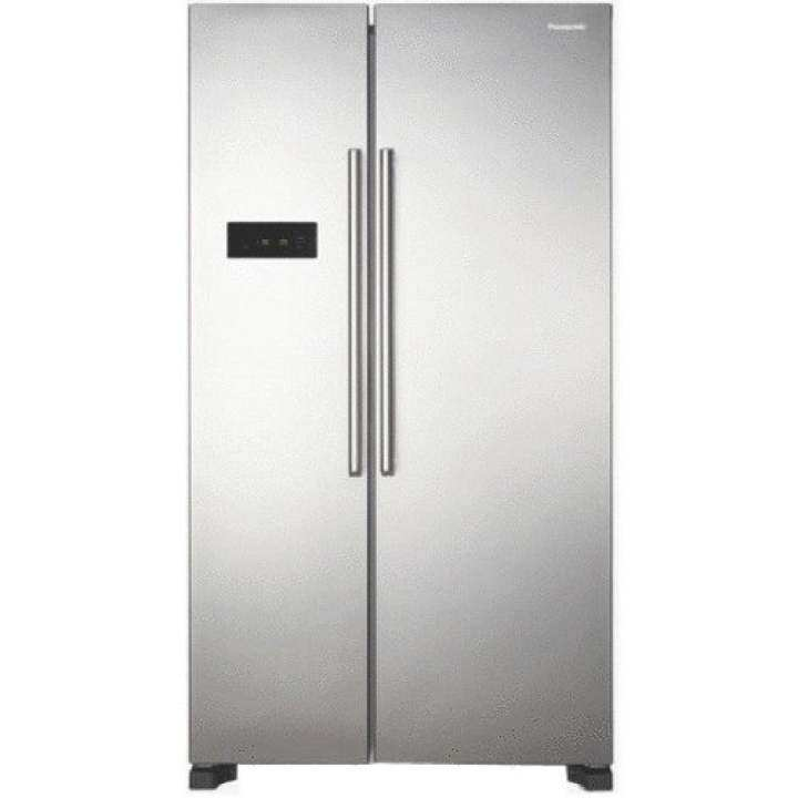 Panasonic NR-BS62SN Side by Side Twin cooling Refrigerator 610L Stainless steel (silver)