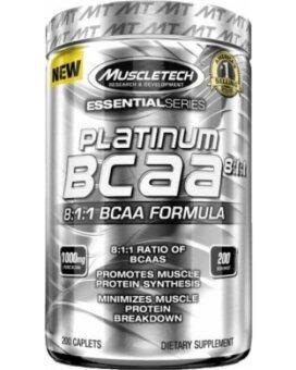 Platinum BCAA 8:1:1  (200 CAPLETS)