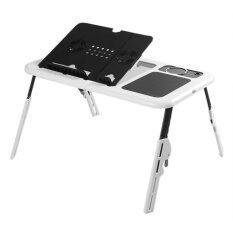 Portable and Foldable E-Table Laptop Desk with Cooling Fan System Malaysia