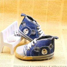 Pre Walker Baby Shoe - Jeans By Glitterstarz Mart.