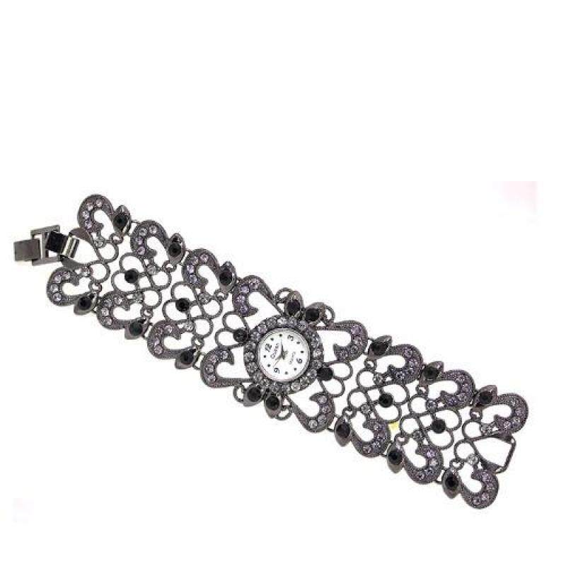 QUEENGY005 Ladies wristwatch (Grey/Black) Malaysia