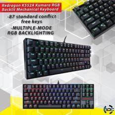 Redragon K552A KUMARA RGB Backlit Mechanical Keyboard (Blue Switch) Malaysia