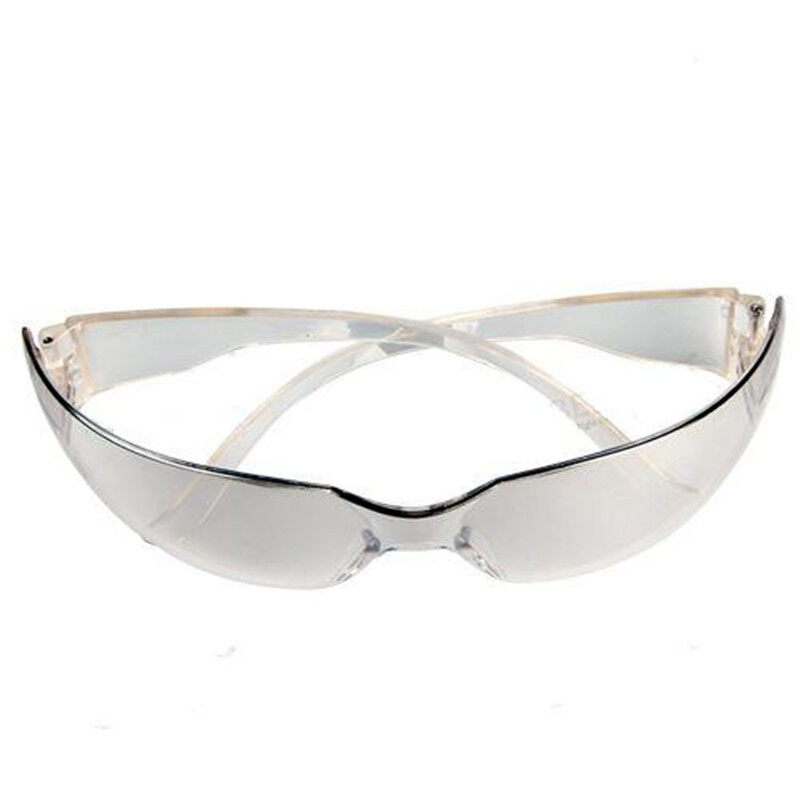 Safety safe Glasses Spectacles Lab Eye Protection Protective Eyewear Clear Lens - intl