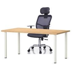 simple office furniture. Simple Office Furniture: [100cm X 60cm] Table Light Brown \u0026 311 Ergonomic Black Furniture T